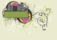 Edifícios urbanos ilustração royalty free