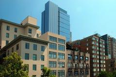 Edifícios urbanos fotografia de stock royalty free