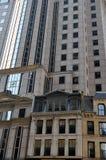 Edifícios urbanos de Boston Foto de Stock