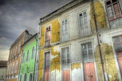 Edifícios velhos Imagens de Stock Royalty Free