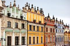 Edifícios velhos da cidade imagem de stock royalty free