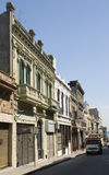 Edifícios velhos, Montevideo Imagens de Stock