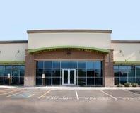 Edifício comercial moderno Fotos de Stock Royalty Free