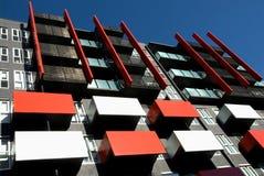 Edifício de apartamento Imagens de Stock Royalty Free