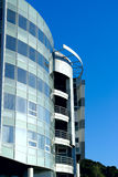 Edifício de banco moderno Fotos de Stock