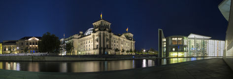 Edifício de Reichstag Imagens de Stock Royalty Free