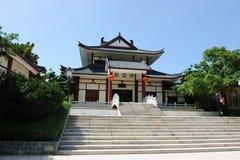 Edifício do estilo tradicional de China Fotos de Stock