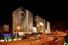 Edifício do petróleo de China Imagens de Stock Royalty Free
