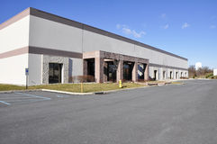 Edifício industrial moderno Imagens de Stock