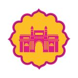 Edification of gateway of india isolated icon. Vector illustration design vector illustration