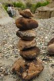 Edificazione delle rocce Fotografia Stock