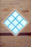 Edifice abstract. Window texture background Royalty Free Stock Photography