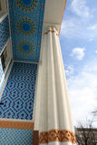 Edifice of hotel. With balconies, Tashkent, Uzbekistan Royalty Free Stock Photo