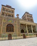 Edifice of the Sun Exterior. Edifice of the Sun the royal palace Golestan oldest groups of buildings in persian capital, was rebuilt to its current form in 1865 Royalty Free Stock Image