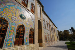 Edifice of the Sun of Golestan Palace in Iran. Royalty Free Stock Image