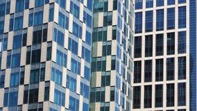 Edifici alti in grandi città per fondo fotografia stock libera da diritti