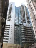Edifici alti moderni in isola centrale e principale, Hong Kong fotografie stock