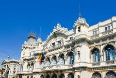 Edifici de la Duana building in Barcelona Royalty Free Stock Photography
