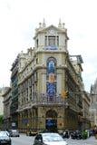Edifici del Col·d'Enginyers Industrials, παλαιά πόλη της Βαρκελώνης, Ισπανία legi Στοκ φωτογραφίες με δικαίωμα ελεύθερης χρήσης