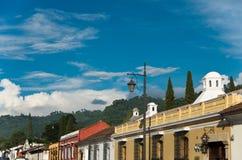 Edifici dell'Antigua Immagini Stock