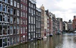 Edifici di Amsterdam fotografia stock