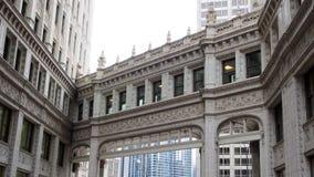 Edifici di Chicago vecchi e moderni fotografie stock libere da diritti