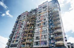 Edifici di Chongqing China Apartment immagini stock libere da diritti