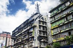 Edifici di Chongqing China Apartment fotografia stock