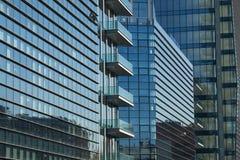 Edifici di Diamantini nel distretto di Porta Nuova a Milano, Italia Fotografia Stock Libera da Diritti