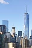 Edifici di Manhattan fotografia stock libera da diritti