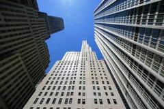 Edifici di New York Immagini Stock Libere da Diritti