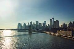 Edifici di New York Fotografia Stock Libera da Diritti