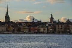 Edifici di Stoccolma fotografia stock libera da diritti