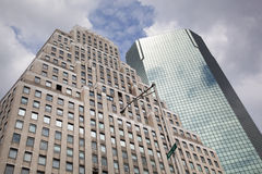 Edifici di Wall Street Immagini Stock Libere da Diritti