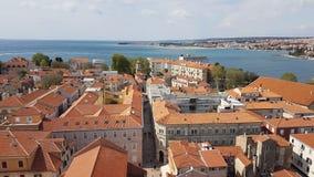 Edifici di Zadar Fotografia Stock