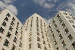 Edifici Duesseldorf di Gehry Fotografie Stock Libere da Diritti