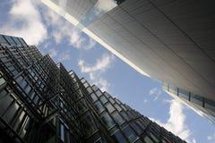 Edifici e vie di Londra Immagini Stock Libere da Diritti