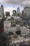 Edifici e vie di Londra Immagine Stock Libera da Diritti