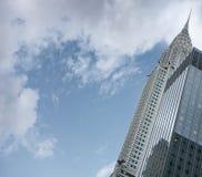 Edifici famosi di Manhattan di Midtown di New York City di art deco sulla a immagini stock