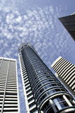 Edifici moderni di Singapore Fotografie Stock Libere da Diritti