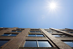 Edifici per uffici Fotografie Stock