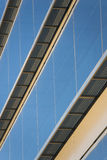 Edifici per uffici con architettura corporativa moderna Immagine Stock Libera da Diritti