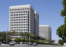 Edifici per uffici corporativi moderni Fotografie Stock