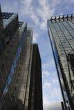 Edifici per uffici della città Fotografia Stock