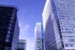 Edifici per uffici della città di Londra Fotografia Stock Libera da Diritti