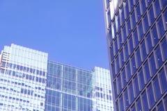 Edifici per uffici della città di Londra Immagini Stock
