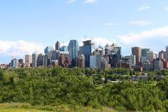 Edifici per uffici di Calgary Immagine Stock