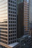 Edifici per uffici di New York City. Fotografie Stock