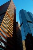 Edifici per uffici di Pittsburgh al tramonto Immagine Stock Libera da Diritti