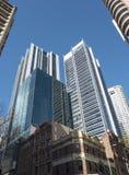 Edifici per uffici ed hotel Immagini Stock